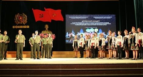Giao lưu văn hóa nghệ thuật Việt Nam – Liên bang Nga