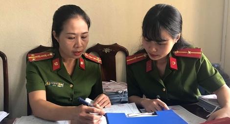 Nữ Đại úy Công an nỗ lực vì dân