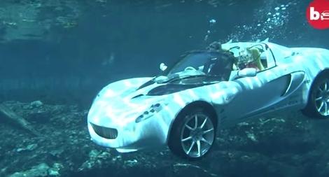 Độc đáo chiếc xe siêu đắt có thể… lặn dưới nước - kết quả xổ số đồng tháp