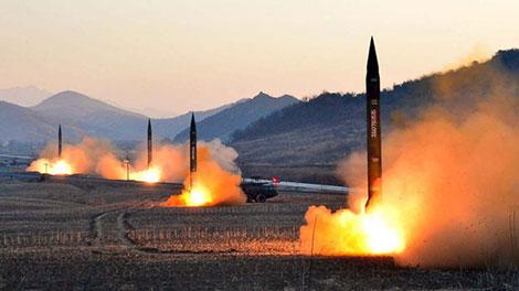 Các vụ thử tên lửa của Triều Tiên luôn thu hút sự quan tâm của khu vực và thế giới. Ảnh: abcnews.