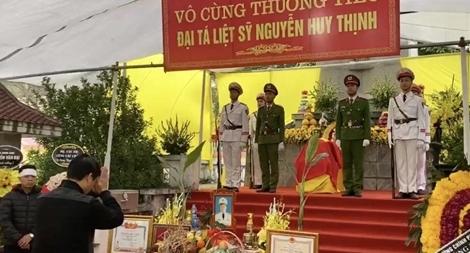 Công an tỉnh Quảng Bình chia buồn với gia đình 3 CBCS hy sinh tại xã Đồng Tâm