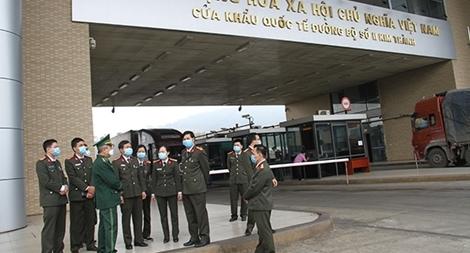 Kiểm tra công tác phòng chống dịch Covid-19 tại Công an tỉnh Lào Cai
