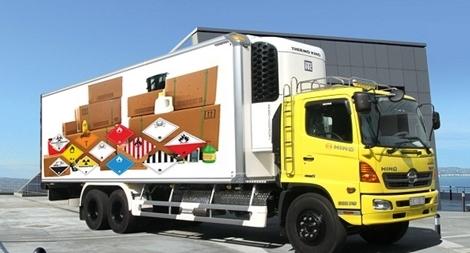 Yêu cầu mới đối với phương tiện vận chuyển hàng hóa nguy hiểm