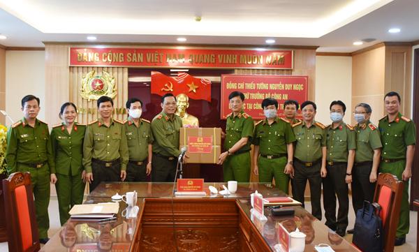 Thứ trưởng Nguyễn Duy Ngọc làm việc tại Công an Thanh Hóa - Ảnh minh hoạ 3