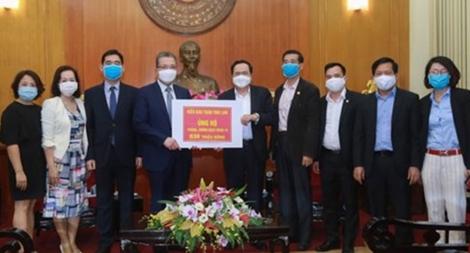 Kết nối tấm lòng của kiều bào ủng hộ quê hương Việt Nam phòng chống dịch