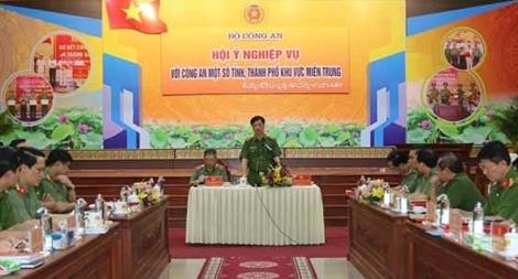 Thứ trưởng Nguyễn Duy Ngọc chủ trì hội nghị Hội ý nghiệp vụ
