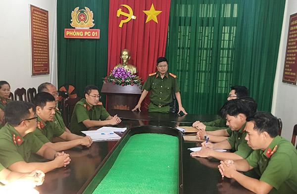 Ghi ở đơn vị dẫn đầu phong trào thi đua Vì An ninh Tổ quốc