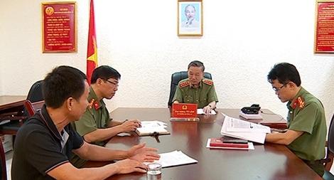 Bộ trưởng Tô Lâm chủ trì tiếp công dân định kỳ tháng 6/2020