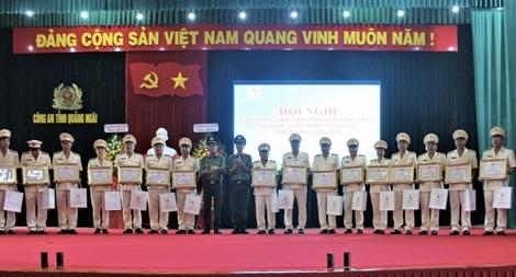 Công an tỉnh Quảng Ngãi tổ chức Hội nghị điển hình tiên tiến phong trào thi đua