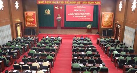 Công an Đắk Nông sơ kết công tác công an 6 tháng đầu năm 2020