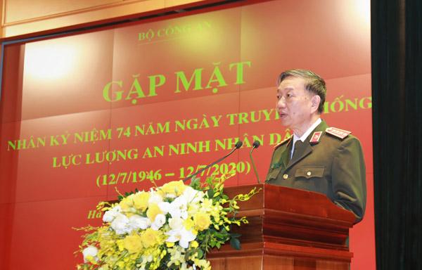 Lực lượng An ninh nhân dân một lòng tận trung với nước, tận hiếu với dân