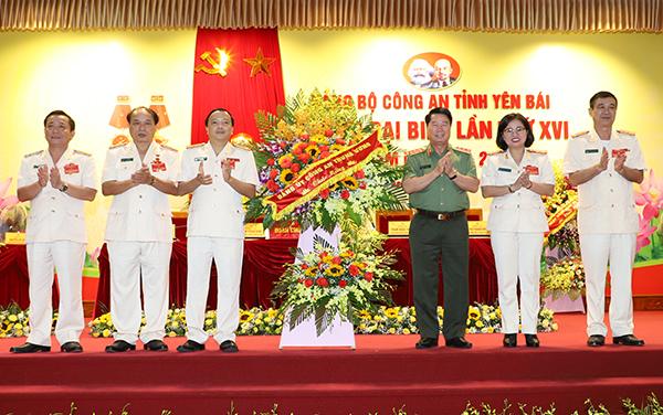 Đảng bộ Công an tỉnh Yên Bái tổ chức Đại hội đại biểu lần thứ XVI