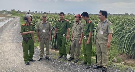 Công an tỉnh Long An đảm bảo an ninh, trật tự từ cơ sở