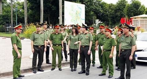Siết chặt ANTT, bảo vệ tuyệt đối an toàn Đại hội đại biểu Đảng bộ tỉnh Nam Định lần thứ XX