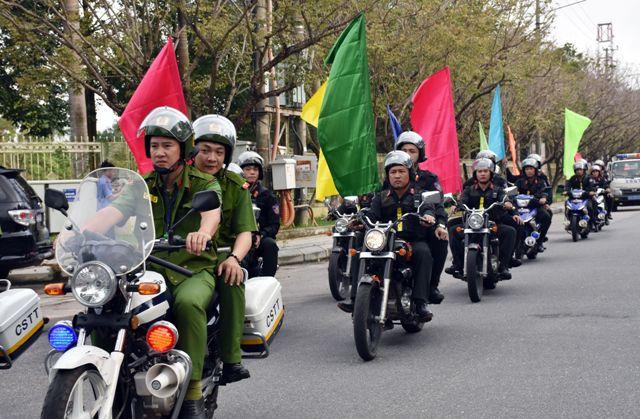 Công an Quảng Nam sẵn sàng đảm bảo tuyệt đối an toàn Đại hội Đảng bộ tỉnh