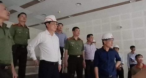 """Làm """"3 ca 4 kíp"""" hoàn thành trụ sở làm việc của Bộ Công an tại TP Hồ Chí Minh"""