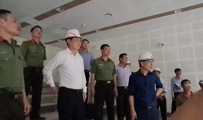 """Làm """"3 ca 4 kíp"""" hoàn thành trụ sở làm việc của Bộ Công an tại TP Hồ Chí Minh - Ảnh minh hoạ 2"""
