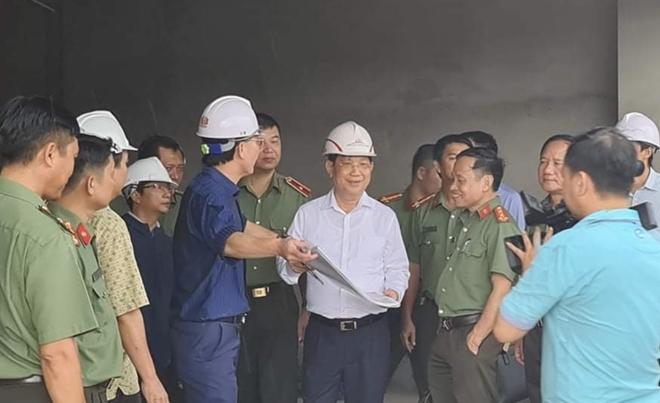 """Làm """"3 ca 4 kíp"""" hoàn thành trụ sở làm việc của Bộ Công an tại TP Hồ Chí Minh - Ảnh minh hoạ 3"""