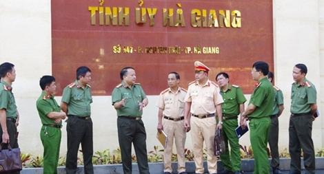Đảm bảo ANTT trước thềm Đại hội đại biểu Đảng bộ tỉnh Hà Giang