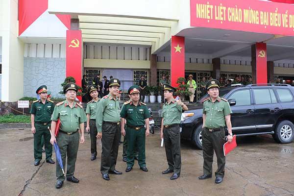Đảm bảo ANTT trước thềm Đại hội đại biểu Đảng bộ tỉnh Nghệ An