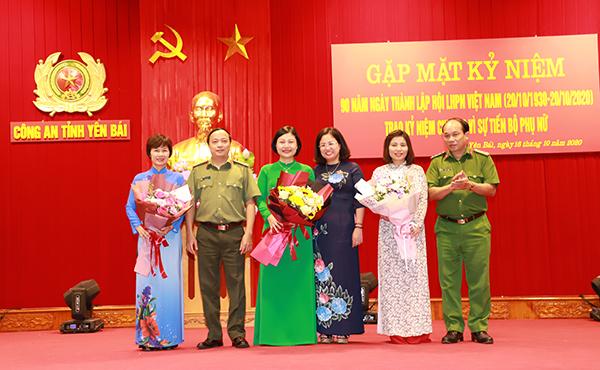 Công an tỉnh Yên Bái kỷ niệm ngày Phụ nữ Việt Nam 20-10 - Ảnh minh hoạ 4