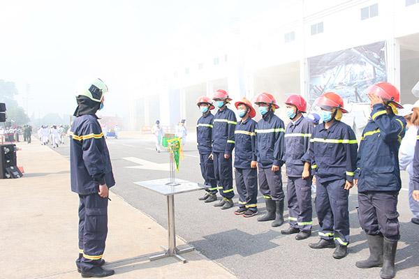 Diễn tập quy mô lớn chữa cháy và cứu nạn cứu hộ tại Công ty Honda Việt Nam - Ảnh minh hoạ 4
