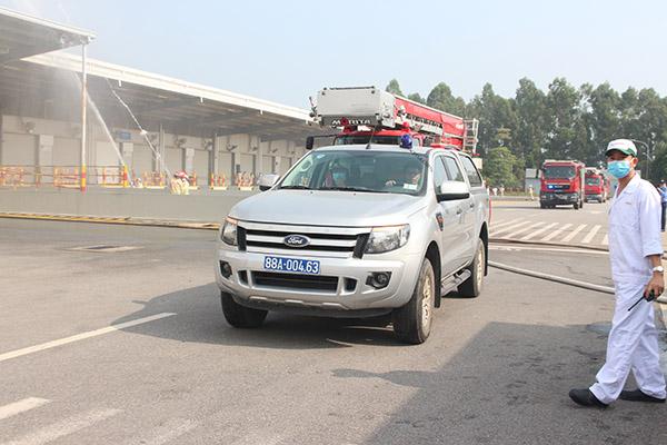 Diễn tập quy mô lớn chữa cháy và cứu nạn cứu hộ tại Công ty Honda Việt Nam - Ảnh minh hoạ 3
