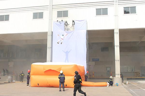 Diễn tập quy mô lớn chữa cháy và cứu nạn cứu hộ tại Công ty Honda Việt Nam - Ảnh minh hoạ 5