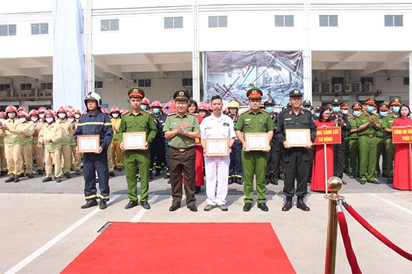 Diễn tập quy mô lớn chữa cháy và cứu nạn cứu hộ tại Công ty Honda Việt Nam - Ảnh minh hoạ 9