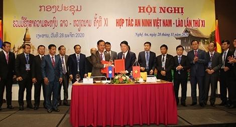 Hội nghị hợp tác an ninh Việt Nam – Lào lần thứ XI