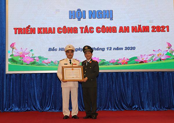 Công an tỉnh Bắc Ninh triển khai công tác năm 2021 - Ảnh minh hoạ 4
