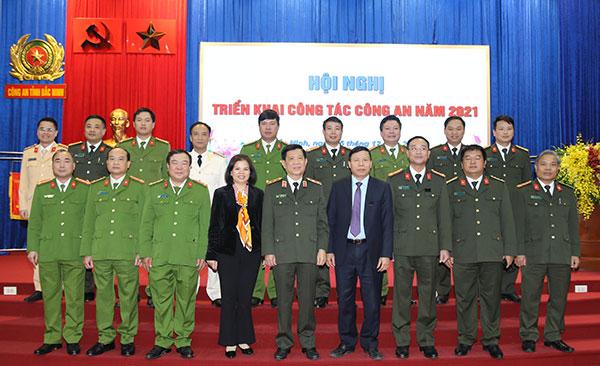 Công an tỉnh Bắc Ninh triển khai công tác năm 2021