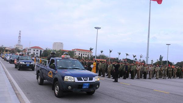 Công an Quảng Bình ra quân tấn công trấn áp tội phạm - Ảnh minh hoạ 2