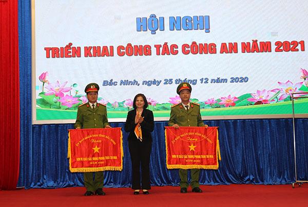 Công an tỉnh Bắc Ninh triển khai công tác năm 2021 - Ảnh minh hoạ 7