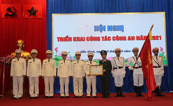 Công an tỉnh Bắc Ninh triển khai công tác năm 2021 - Ảnh minh hoạ 3