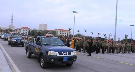 Công an Quảng Bình ra quân tấn công trấn áp tội phạm