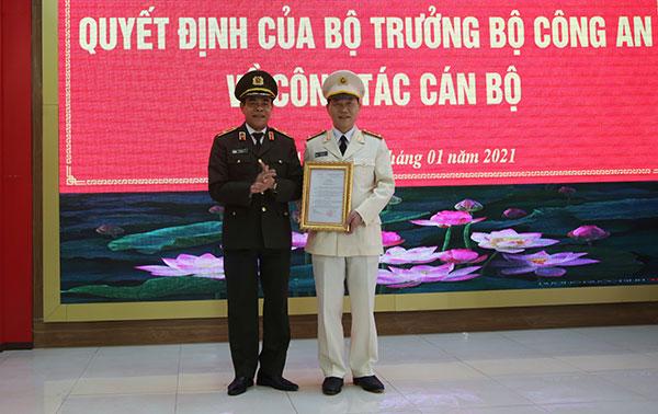 Đại tá Lê Văn Thái giữ chức vụ Phó Giám đốc Công an tỉnh Nghệ An
