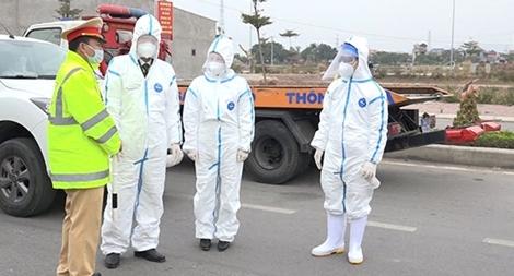 Công an Hải Dương tăng cường các biện pháp phòng dịch COVID-19