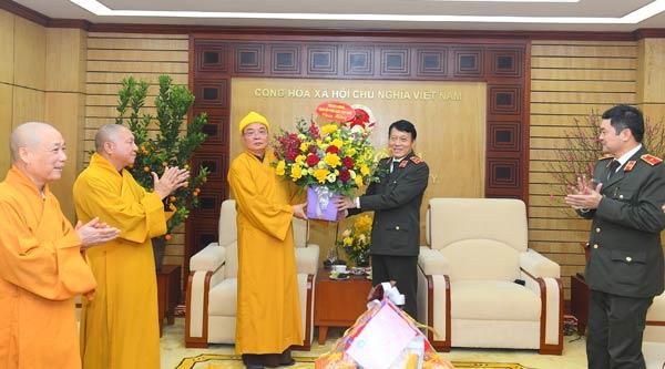 Đồng bào các tôn giáo gửi lời chúc mừng lực lượng CAND