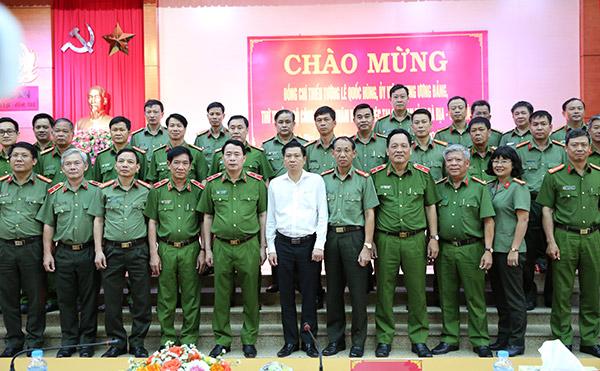 Đảm bảo tốt nhất cho công tác giữ gìn ANTT trên địa bàn tỉnh Bà Rịa-Vũng Tàu