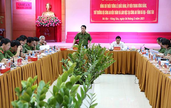 Đảm bảo tốt nhất cho công tác giữ gìn ANTT trên địa bàn tỉnh Bà Rịa-Vũng Tàu - Ảnh minh hoạ 2
