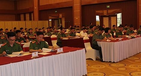 Tập huấn công tác Công an tham gia trả lời kháng thư Liên Hợp Quốc