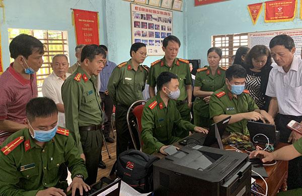 Công an Quảng Bình tăng cường bảo vệ bầu cử đại biểu Quốc hội và HĐND các cấp