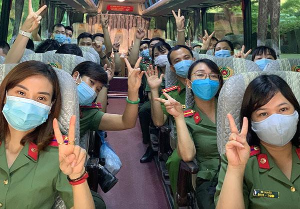 Đoàn 166 y, bác sĩ CAND lên đường chi viện Bắc Giang - Ảnh minh hoạ 4