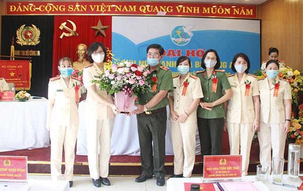Hội Phụ nữ Thanh tra Bộ Công an nỗ lực thực hiện hiệu quả nhiệm vụ chính trị