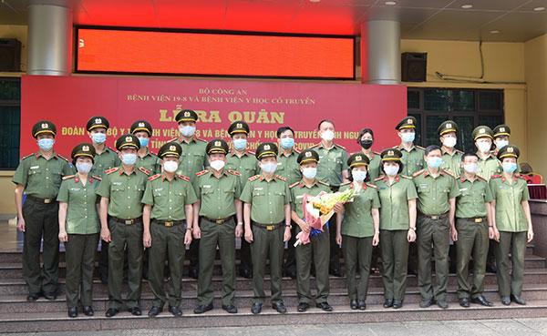 Đoàn 166 y, bác sĩ CAND lên đường chi viện Bắc Giang - Ảnh minh hoạ 2
