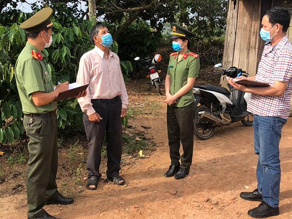 An ninh Công an huyện Krông Nô xứng đáng với niềm tin yêu của nhân dân