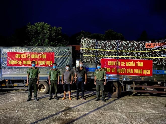 Công an Đắk Nông tặng quà cho lực lượng tuyến đầu chống dịch - Ảnh minh hoạ 2
