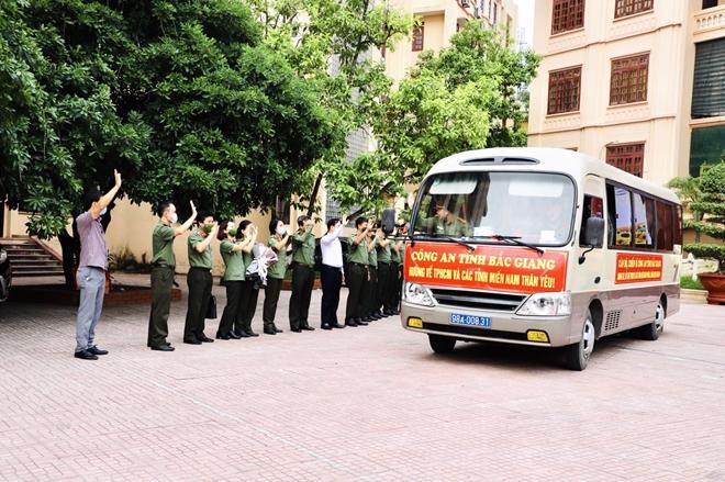 Công an Bắc Giang hỗ trợ các tỉnh phía Nam chống dịch - Ảnh minh hoạ 2