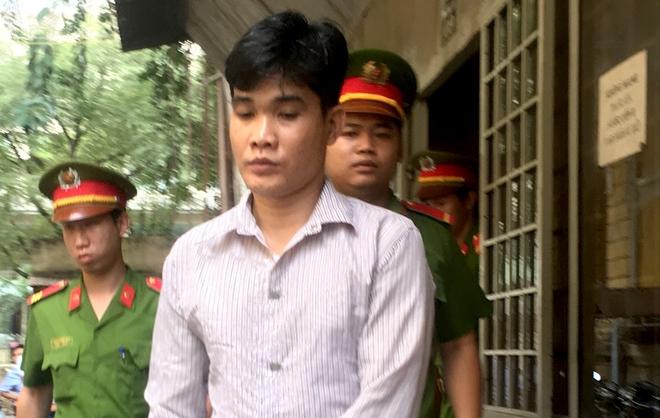 Bị cáo Phạm Ngọc Tú sau phiên xử